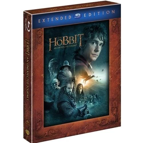The Hobbit: An Unexpected Journey (Extended Edition) (Blu-ray) (With INSTAWATCH) (Widescreen)