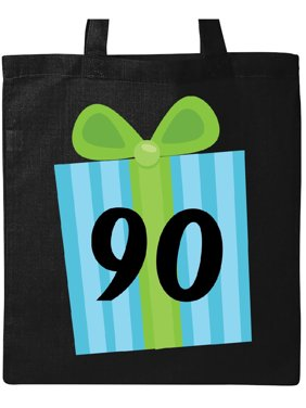 a1991fbed Product Image 90th Birthday Gift Tote Bag Black One Size