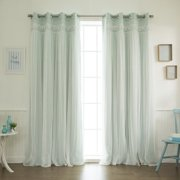 Best Home Fashion, Inc. Blackout Thermal Curtain Panels (Set of 2)