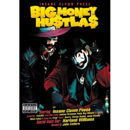 Insane Clown Posse: Big Money Hustla$ (DVD) - Clown Halloween Movies