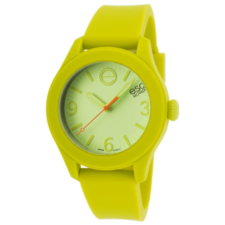 Movado 7101453 One Light Green Silicone Light Green Dial