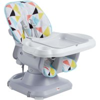 Fisher-Price SpaceSaver Adjustable High Chair, Windmill