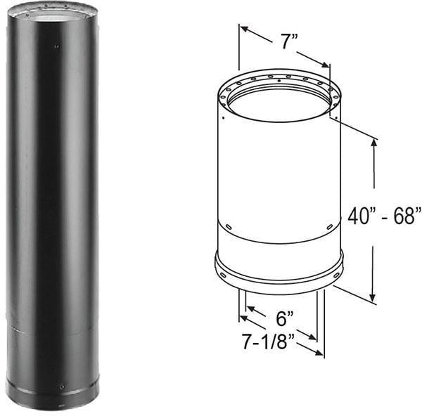 6Dvl-68Ta 40-68 Telescope Pipe