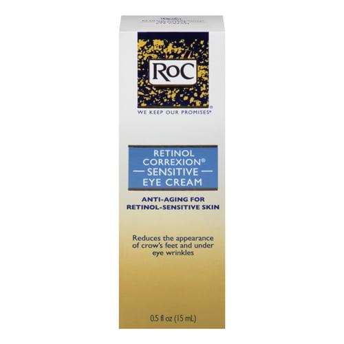 Roc Retinol Correxion Sensitive Skin Eye Cream, 0.5 oz, 2 Pack