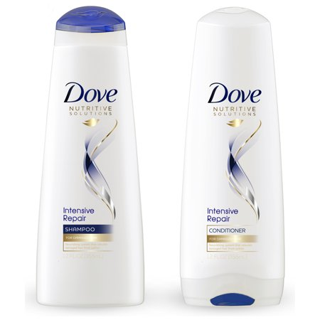Dove Nutritive Solutions Shampoo & Conditioner Intensive Repair 12 oz, 2 ct