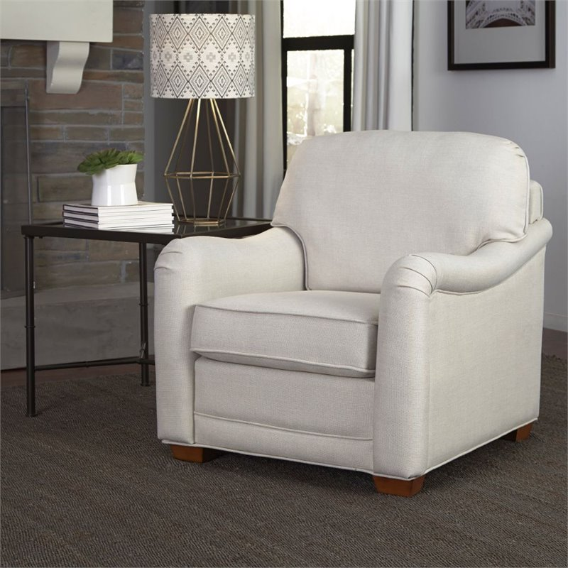 Home Styles Heather Accent Chair in Off White - image 2 de 2