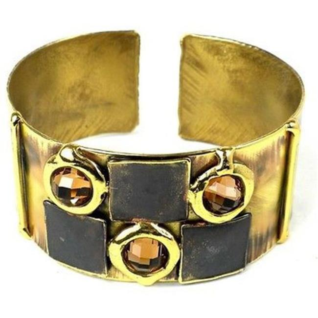 Brass Images Handcrafted Showplace Brass Cuff