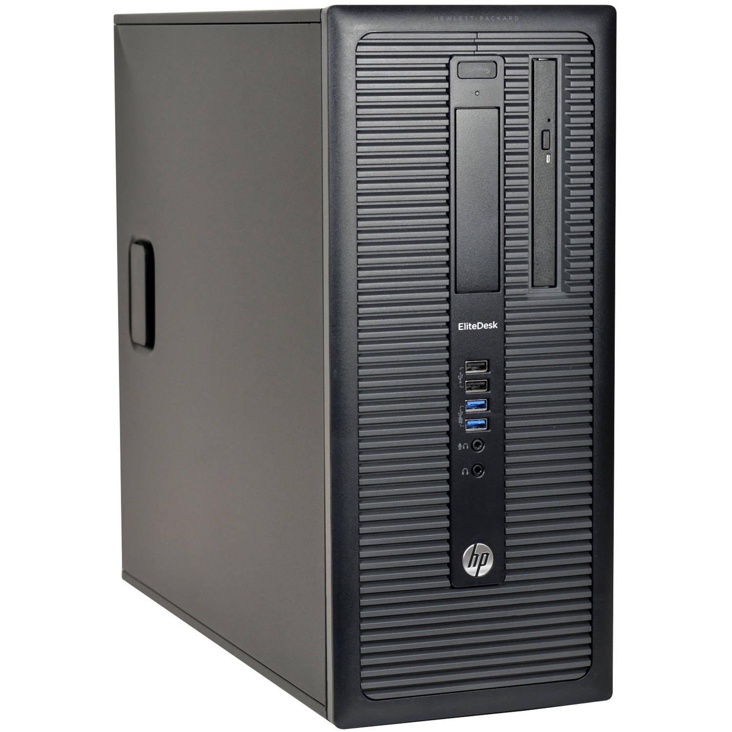 Refurbished HP EliteDesk 800 G1-T Desktop PC with Intel Core i7-4770 Processor, 16GB Memory, 2TB Hard Drive and Windows 10 Pro (Monitor Not Included)