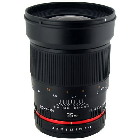 Rokinon 35mm F1.4 AS UMC Wide Angle Cine Lens for Sony E-Mount (NEX) (Best Rokinon Cine Lens)
