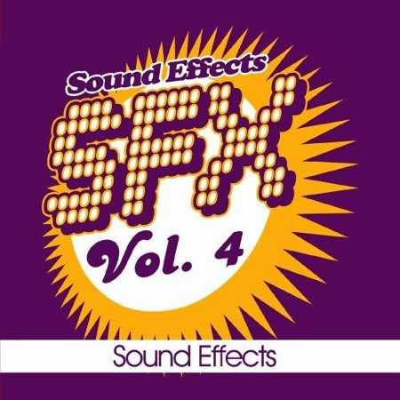 Sound EFX - SFX, Vol. 4 - Sound Effects (CD) - Halloween Music With Sound Effects