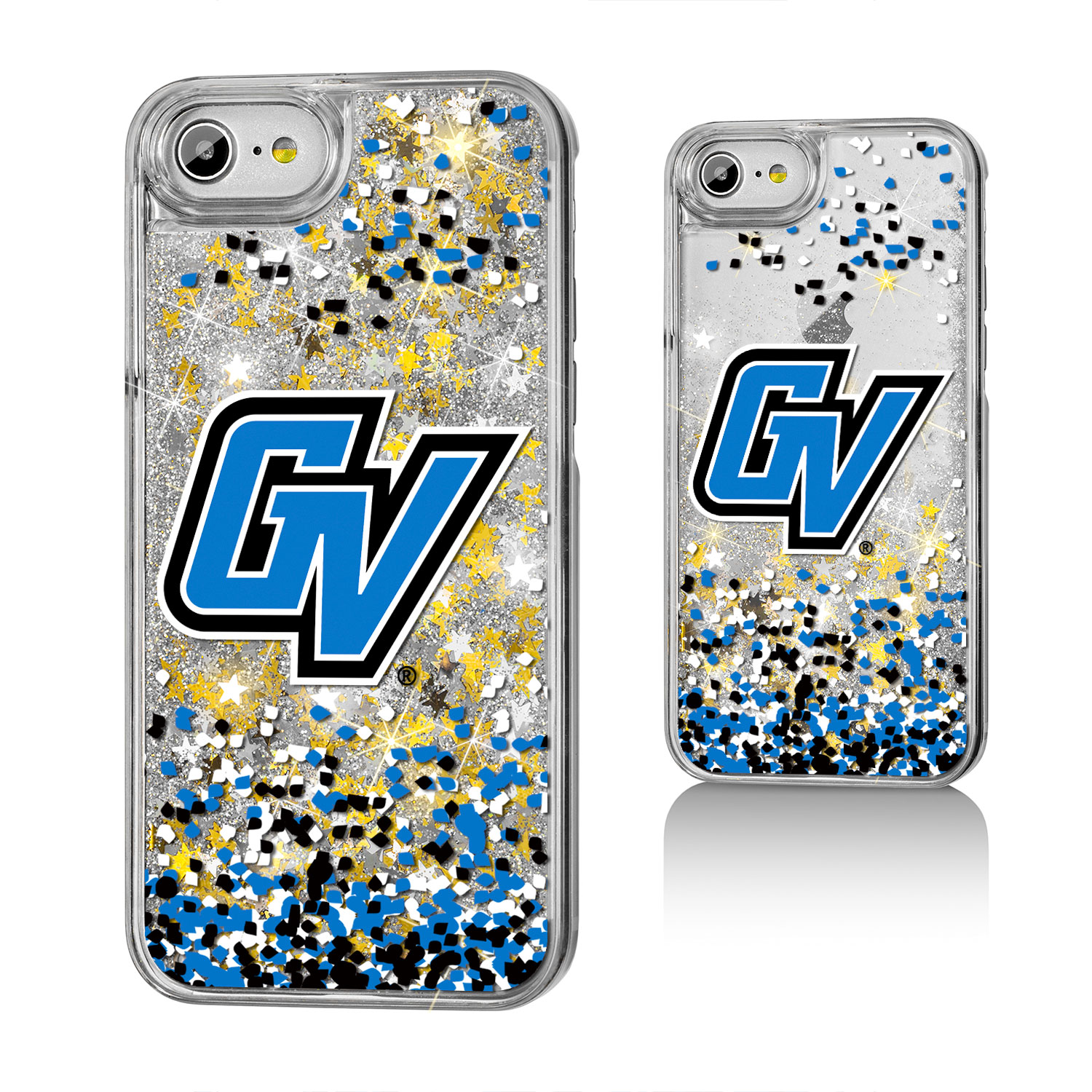 Grand Valley State University Gold Glitter Case for the iPhone 6 / 6S / 7 / 8 NCAA