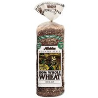 Nickles Country Style 100% Whole Wheat Bread, 16 oz