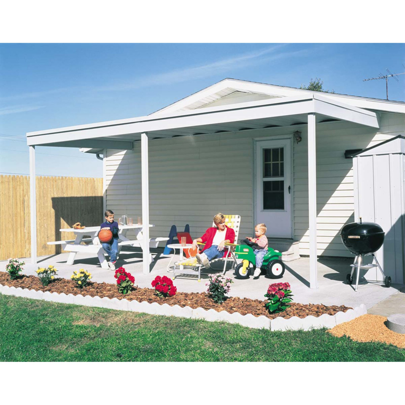 Arrow Shed Storage Patio Cover 10 X 20 Ft.