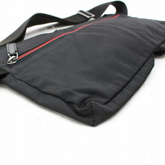 21cc3c1088a Gucci - Sherry Web Fanny Pack Waist Pouch 868544 Black Nylon Cross Body Bag  - Walmart.com