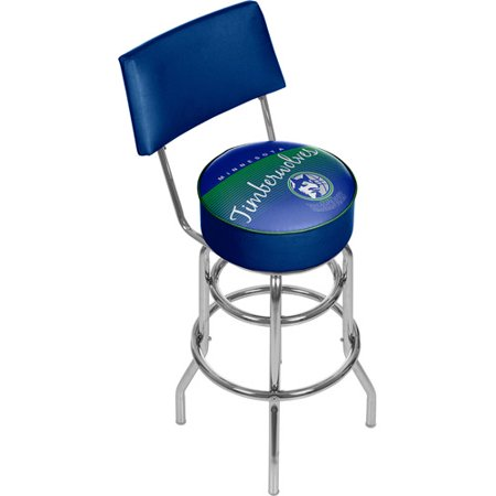 Click here to buy Minnesota Timberwolves NBA Hardwood Classics Bar Stool with Back by .