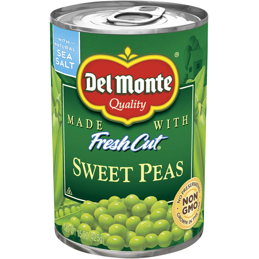 Del Monte Fresh Cut Sweet Peas, 15 oz