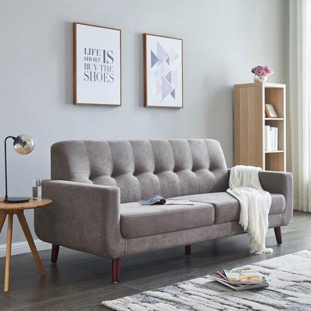 Mid Century Modern Upholstered