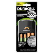 Duracell CEF15 Value Charger With Duralock Power Preserve Technology