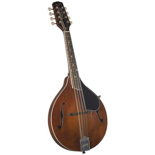 Kentucky KM-256 Artist A-Model Mandolin, Transparent Brown by Kentucky