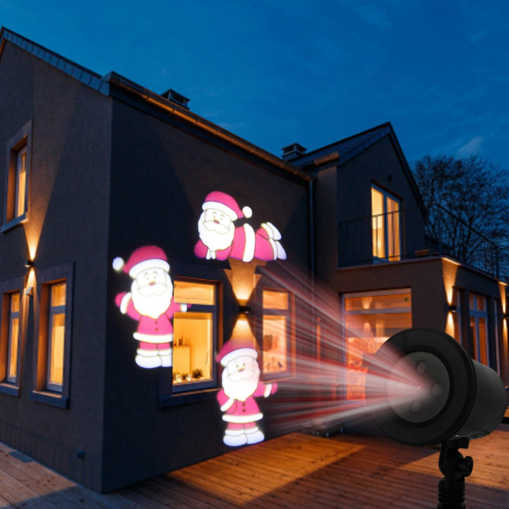 Access Control Kits Nice Kshioe Led Automatic Conversion Santa Claus Led Christmas Decoration Outdoor Landscape Lawn Lamp Us Access Control