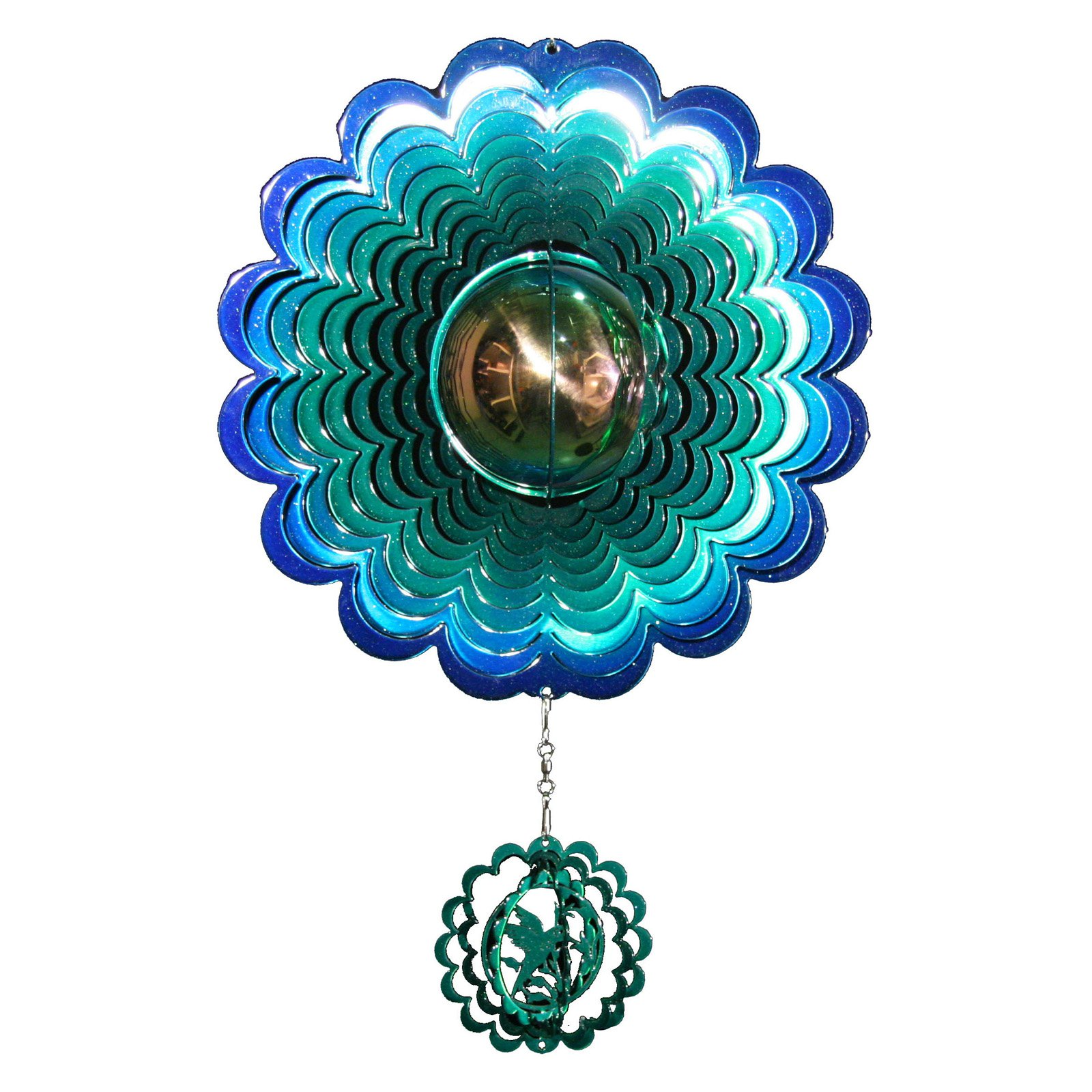 Next Innovations Hummingbird Gazing Ball Spin Wheel by Next Innovations