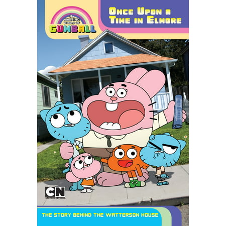 Once Upon a Time in Elmore: The Story Behind the Watterson - Gumball Watterson Halloween