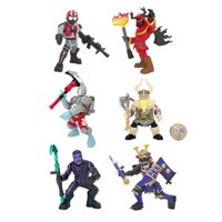 Fortnite Battle Royale Collection, Best of Solo, 6 Pack of Mini Figures
