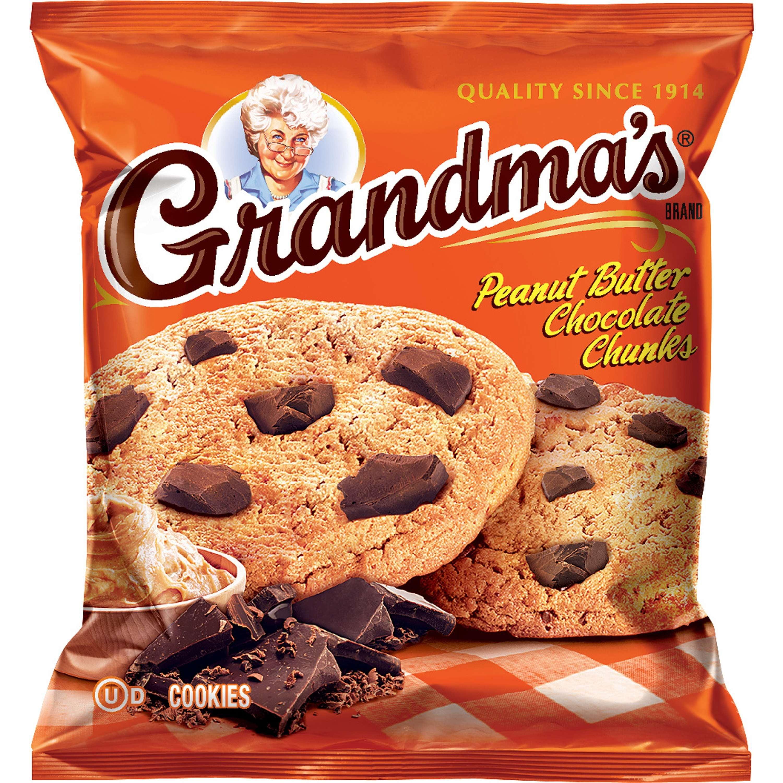 Grandma S Peanut Butter Chocolate Chunk Cookies 12 5 Oz Walmart Com Walmart Com