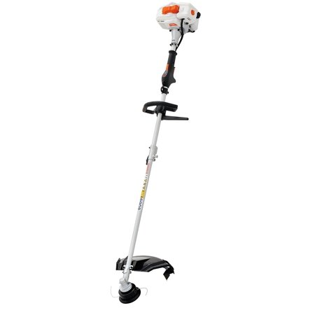 Sunseeker 2-Cycle Full Crank Shaft 26 cc Straight Shaft Gas String Trimmer and Brush Cutter