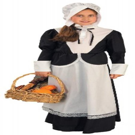 Pilgrim Costume Girl (Forum Novelties Pilgrim Girl Costume, Child's)