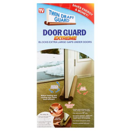 As Seen on TV Twin Draft Door Guard