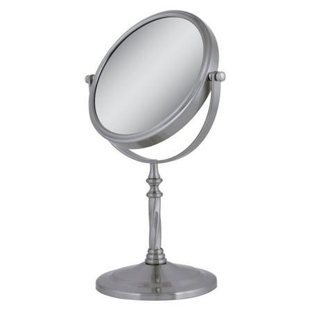 Zadro 5X/1X Swivel Satin Nickel Vanity -