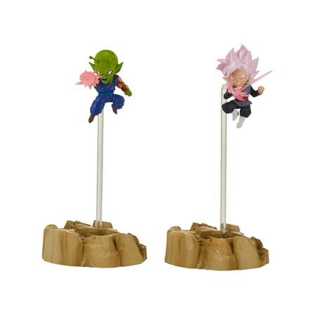 Piccolo Dragon Ball (Bandai America - Dragon Ball Super Nano Figures 2-Pack, Super Saiyan Rose Goku and)