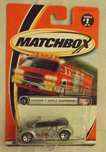 Matchbox Hero City Concept Beetle Convertible Daddy's Dreams #1 SIVLER 1:64 S... by Mattel