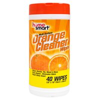 Home Smart Multi Surface Orange Cleaner Wipes