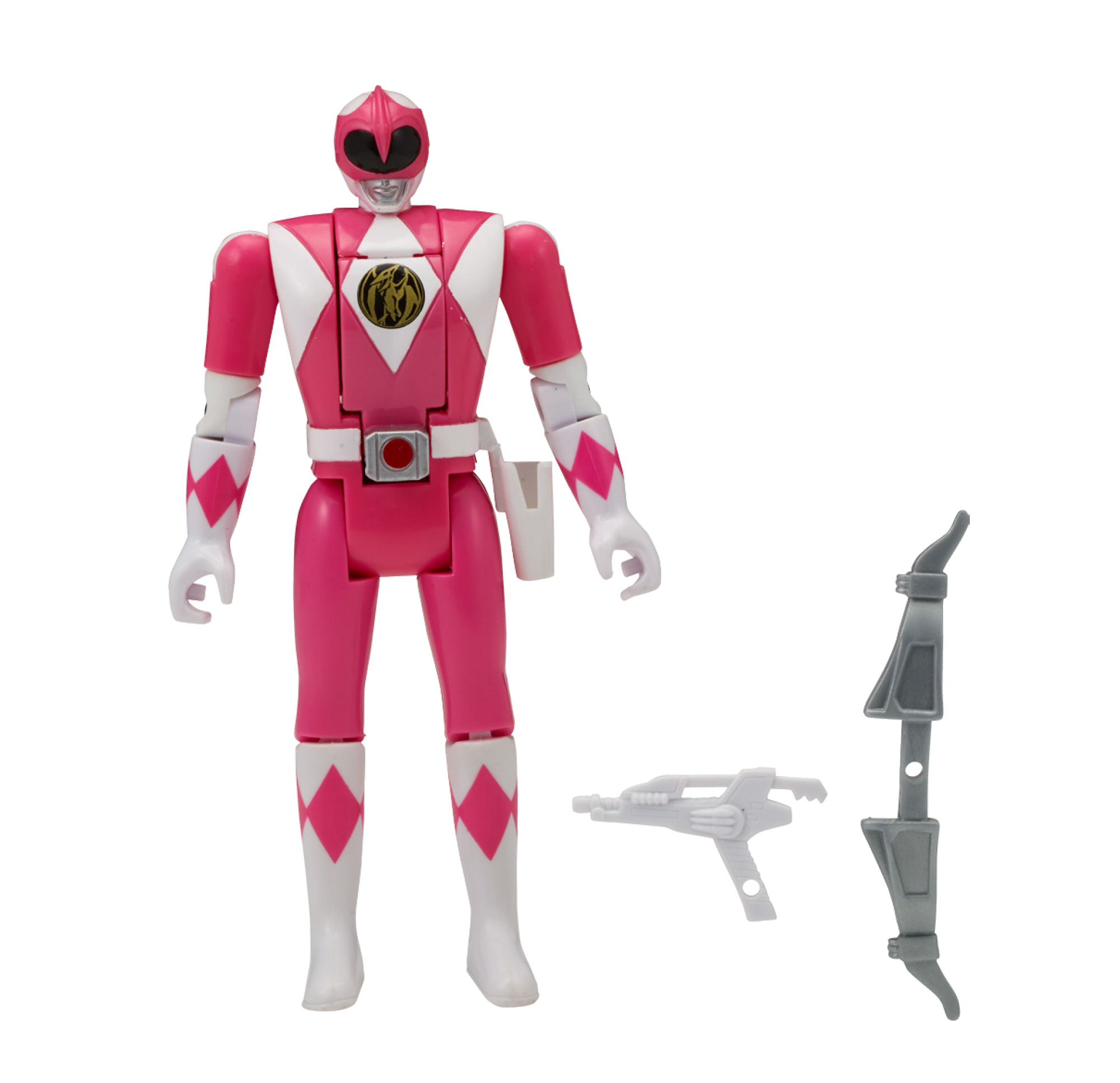 Bandai Power Rangers Mighty Morphin Head Morph Figure, Pink Ranger by Bandai America