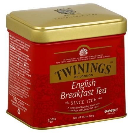 Twinings of London English Breakfast Loose Tea, 3.53 - English Breakfast Loose Leaf Tea