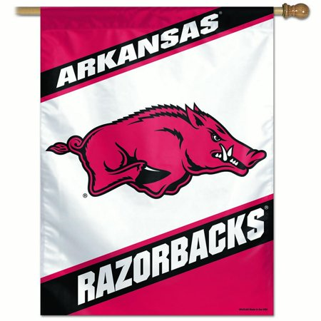 - Arkansas Razorbacks Official NCAA Flag Banner 27x37 by Wincraft 011749