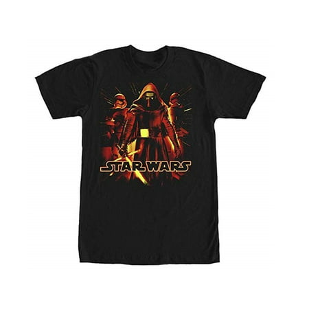 Star Wars Episode 7 Kylo Ren & Stormtrooper Mens' T-Shirt - FREE SHIPPING - Shipping Wars Cowgirl