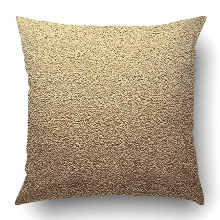 - ARTJIA Gold Sparkle Gold Metallic Texture Trendy Template Designs Pillowcase Pillow Cushion Cover 20x20 inch