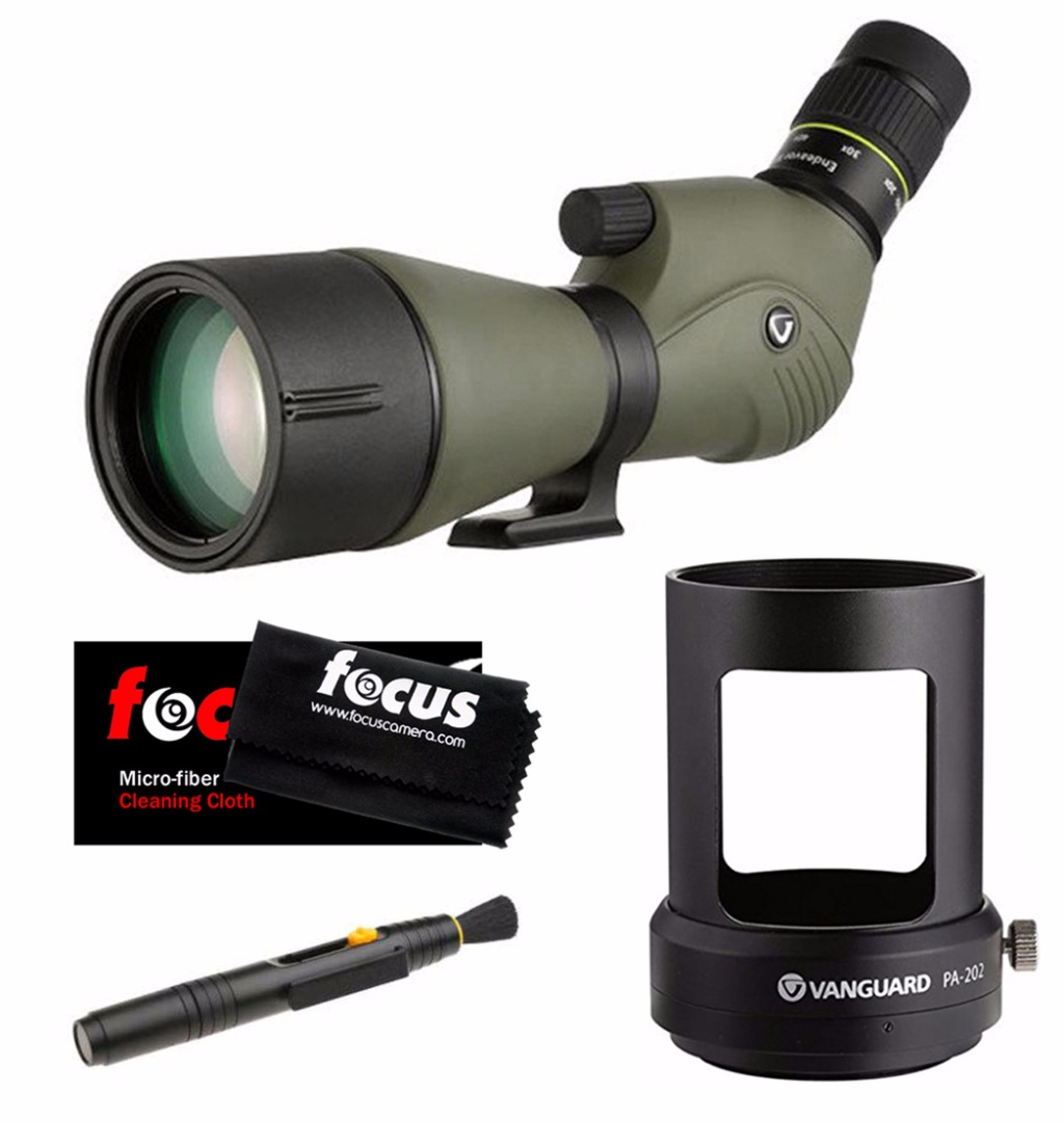 Vanguard Endeavor 20-60x80 Angled Spotting Scope with Adaptor & Accessory Kit
