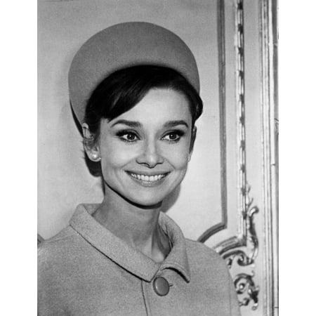 Audrey Hepburn wearing a hat and coat Photo (Audrey Coat)