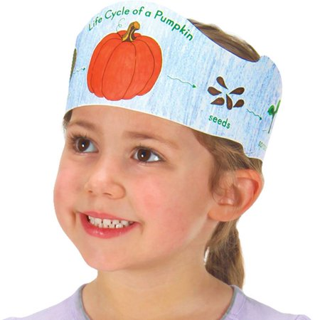Ready-To-Decorate® Life Cycle Of A Pumpkin Crowns - Pumpkin Life Cycle