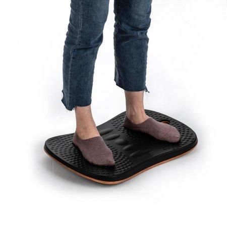 UBesGoo Balance Board Stability Trainer, Standing Desk Balance Rocker Wobble Board w/Anti-Fatigue...