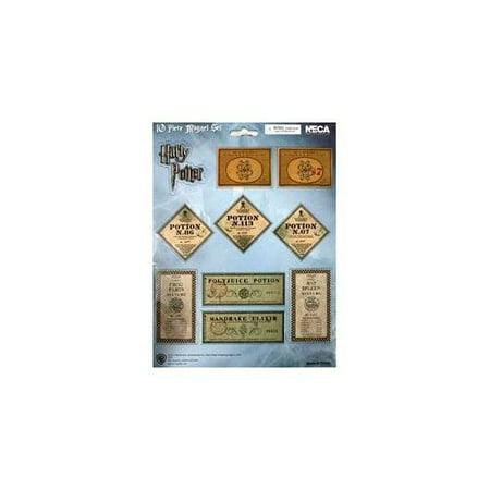 Harry Potter Hbp Magnet Sheet Potion Label - Vintage Halloween Potion Labels