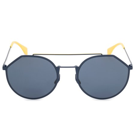 Sunglasses Fendi Men Ff M 21 /S 0PJP Blue / C3 gray polarized lens