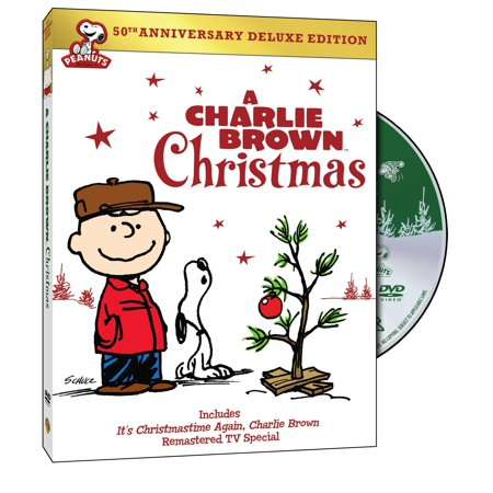 A Charlie Brown Christmas: 50th Anniversary (Deluxe Edition) (DVD) (2017 Charlie Brown Halloween)