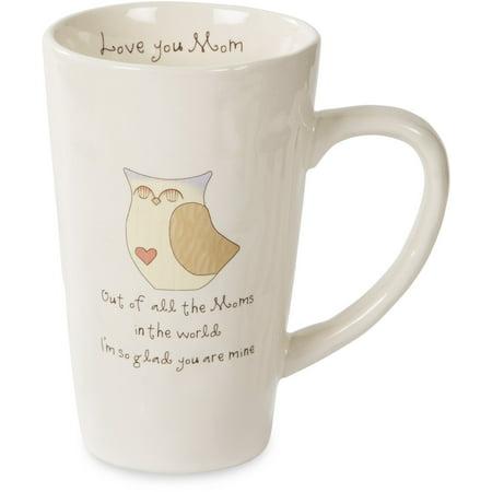 - Pavilion - Owl Love You Mom Ceramic Mug 18 oz