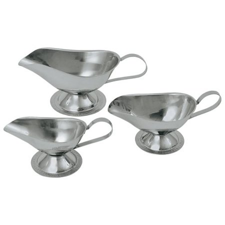 Update International 3 Oz. Stainless Steel Gravy Boat