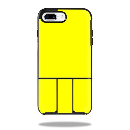 MightySkins Protective Vinyl Skin Decal for OtterBox Universe iPhone 7 Plus / 7S Plus Case wrap cover sticker skins Solid (Yellow C 13)